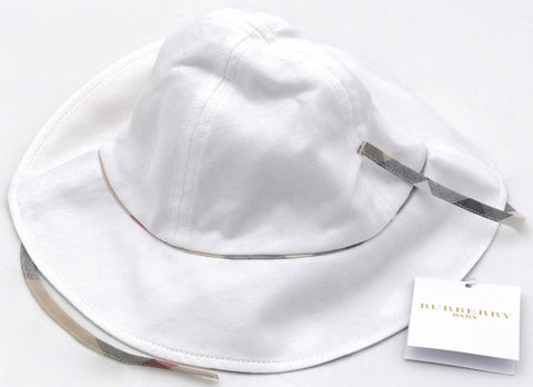 BURBERRY BAMBINA JUNIOR CAPPELLO PESCATORE 100% COTONE CASUAL ART. B91137