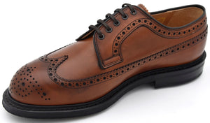 CHURCH'S UOMO SCARPA DERBY FRANCESINA CLASSICA BUSINESS PELLE FIT G ART. SWING