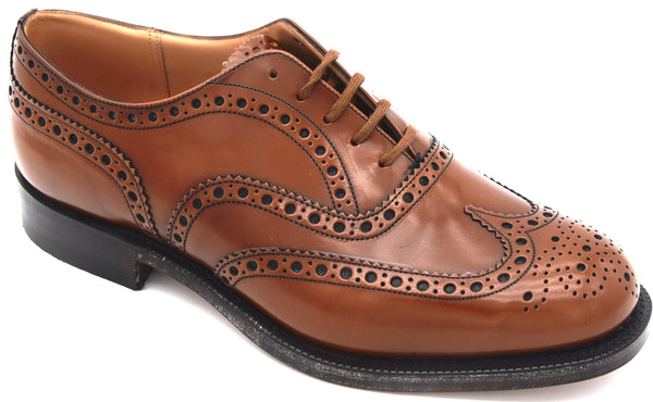 CHURCH'S UOMO SCARPA DERBY FRANCESINA CLASSICA FIT G IN PELLE ART. BURWOOD