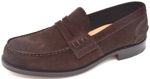 CHURCH'S UOMO SCARPA MOCASSINO CLASSICO BUSINESS FIT F CAMOSCIO PEMBREY SUEDE