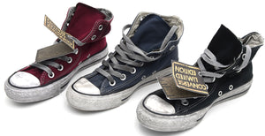 CONVERSE DONNA UOMO UNISEX SCARPA SNEAKER CASUAL ART. ALL STAR HI CANVAS LTD