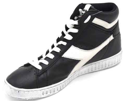 DIADORA DONNA UOMO UNISEX SCARPA SNEAKER CASUAL GAME L HIGH WAXED 501.159657