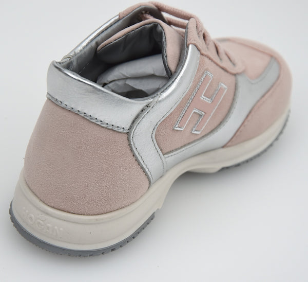 HOGAN JUNIOR INTERACTIVE BAMBINA SCARPA SNEAKER CASUAL ART. HXT0920324221Q4051
