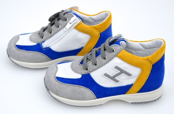 HOGAN JUNIOR INTERACTIVE BAMBINO SCARPA SNEAKER CASUAL ART. HXT0920I4608FJ2AS9