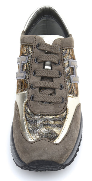 HOGAN JUNIOR NEW INTERACTIVE BAMBINA SCARPA SNEAKER ART. HXC00N0258270Z3A11