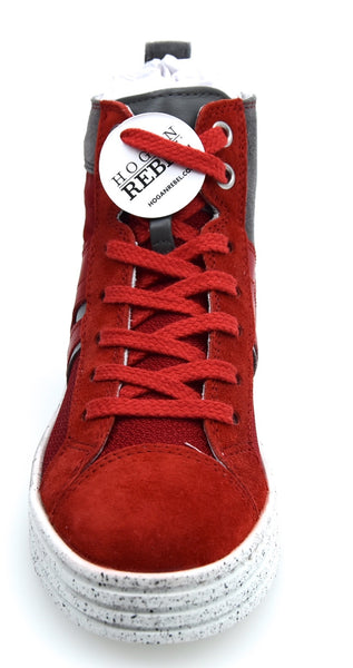 HOGAN REBEL R141 BAMBINO JUNIOR SCARPA SNEAKER CASUAL ART. HXC1410U770FUY0XTY