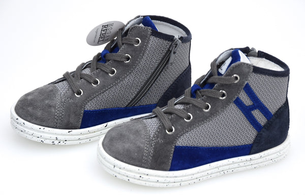 HOGAN REBEL R141 BAMBINO JUNIOR SCARPA SNEAKER CASUAL ART. HXT1410I390FTM0XTS