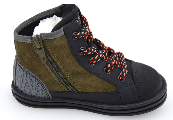 HOGAN REBEL R141 BAMBINO JUNIOR SCARPA SNEAKER CASUAL ART. HXT1410I391E1G0XK6