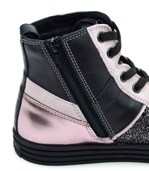 HOGAN REBEL R141 JUNIOR BAMBINA SCARPA SNEAKER CASUAL ART. HXC1410U771F4P0YY0