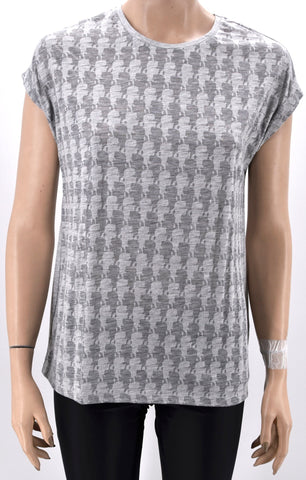 KARL LAGERFELD DONNA MAGLIA T-SHIRT GIROCOLLO REGULAR FIT CASUAL ART. 71KW1716