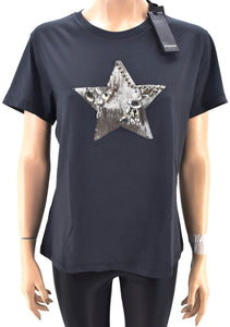 PINKO DONNA MAGLIA T-SHIRT GIROCOLLO REGULAR FIT CASUAL ART. RADIARE 1G14H3 Y5BD