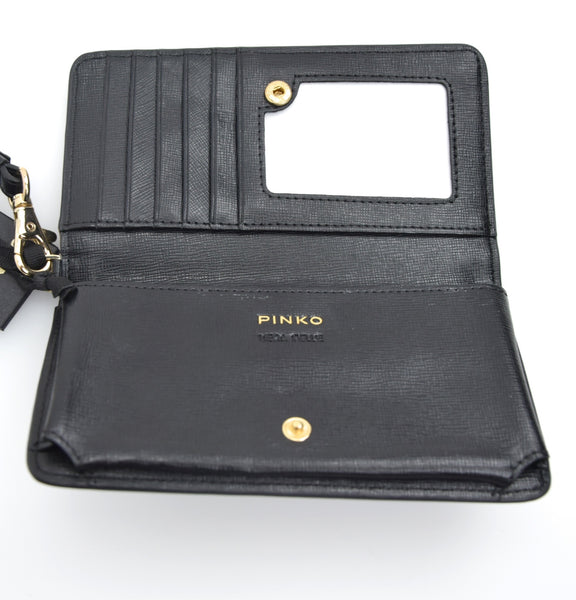 PINKO DONNA PORTA I-PHONE IN PELLE ART. 1P20H5 Y1TF SAFFIANO