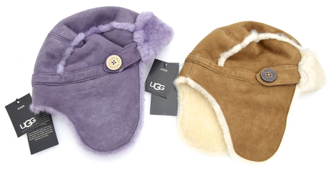 UGG AUSTRALIA BAMBINA JUNIOR CAPPELLO BERRETTO AVIATORE U1553 BAILEY AVIATOR