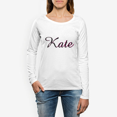 Kate Women's Crew Neck Long sleeve T-shirt
