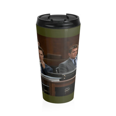 Lincoln lawyer Movie Goer Stainless Steel Travel Mug