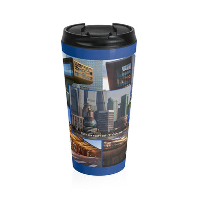 Art's Archtitectural Design Stainless Steel Travel Mug
