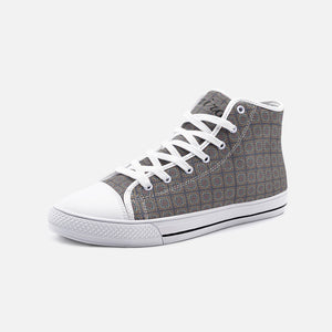 Cairo Unisex High Top Canvas Shoes