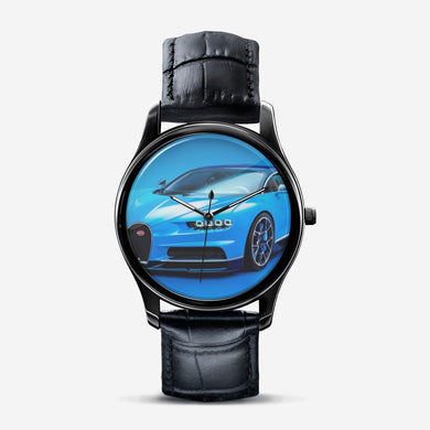 Supercar Classic Fashion Print Black Quartz Watch