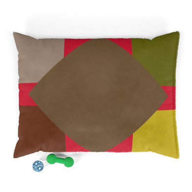 Drab Patch Pet Bed