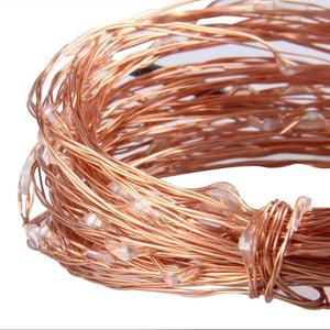 Lightening LED Copper Wire String