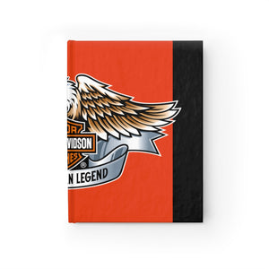 Endorsement for Harley Davidson Journal - Ruled Line