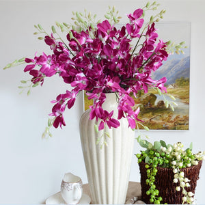 Living Home decoration Artificial Orchids Flower