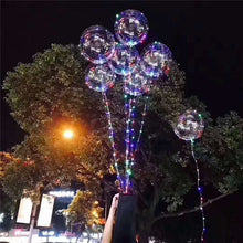 Load image into Gallery viewer, Balloons LED Lights Up BOBO Transparent Colorful Flash