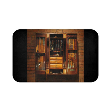 Wooden tools Bath Mat