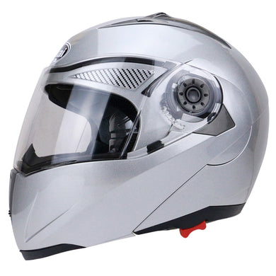 Full Face Massimo Phoenix Motorcycle | Cruiser Helmet with Dual Visor Street Bike with Transparent Shield