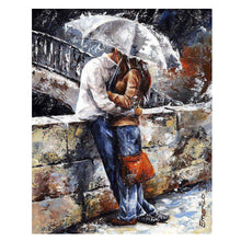 Load image into Gallery viewer, Romantic Lover Digital Oil Hand Painting Wall Home Decor