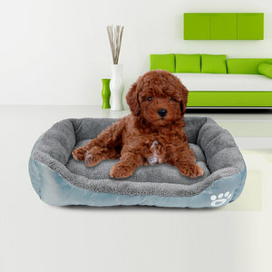 Ultra-soft Water-resistant Dog Cat Warm Bed Fits Most Pets