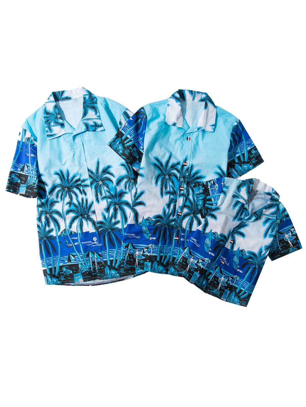 Tropical Print Matching Family Shirt