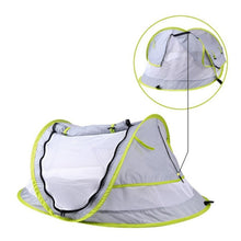 Load image into Gallery viewer, Portable Baby Crib Travel Bed Beach Tent with UV Protection