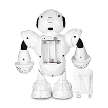 Load image into Gallery viewer, HT- 01 Kids Electronic Smart Space Dancing Robot with Music LED Light