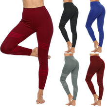 Load image into Gallery viewer, Yoga Pants Sport Leggings Running Gym Stretch Sports Solid Color Long Pants