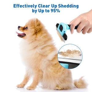 Sinypet Q - 007 - NH Deshedding Comb for Medium & Short Hair Medium & Large Size Pet Dogs