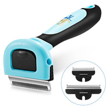 Load image into Gallery viewer, Sinypet Q - 011 3 in 1 Deshedding Comb Suitable for All Cats & Dogs