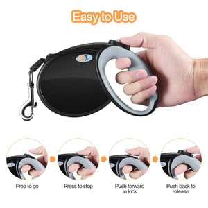 Sinypet L - 007 Retractable Dog Leash 5m Suitable for Pet Up to 30kg