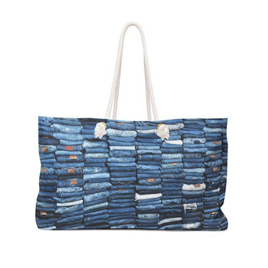 Coco Soul Denim Weekender Bag