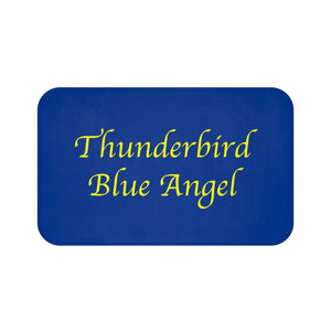 Thunderbird Blue Angel Bath Mat