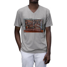 Load image into Gallery viewer, Wooden Toolbox Men's Tri-Blend V-Neck T-Shirt
