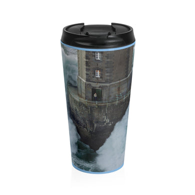 Stormy Stainless Steel Travel Mug