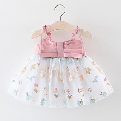 Summer Cute Print Dress Toddler Baby