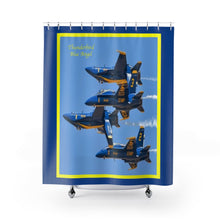 Load image into Gallery viewer, Thunderbird Blue Angel Shower Curtains