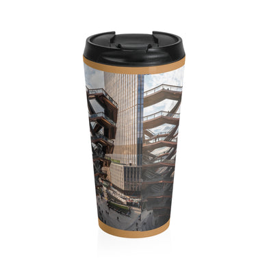 Hudson Yards NYC Stainless Steel Travel Mug