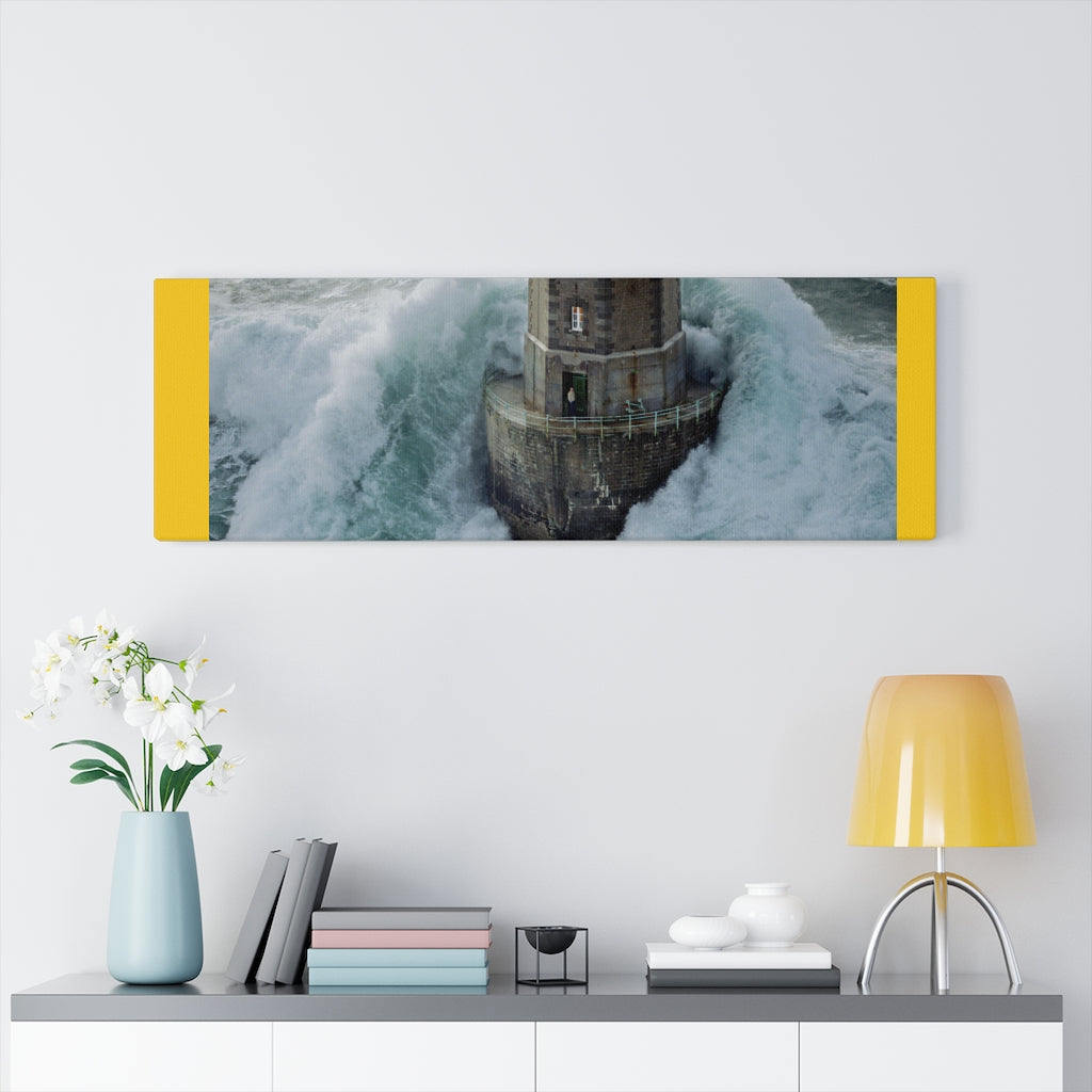 Lighthouse Stormy Canvas Gallery Wraps