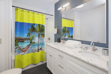Escape To Caribbean Shower Curtains