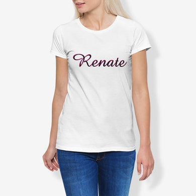Renate Women's Cotton Stretch CrewNeck T-Shirt