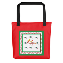 Load image into Gallery viewer, JT Custom order Christmas tote gift Bag for Jacques Torres chocolates