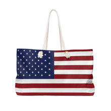 Load image into Gallery viewer, Shanelle Patriot Weekender Bag